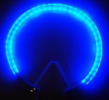 Coroncina Per Esterno Luminosa-AUREOLA Stellario LED Luci Blu  Misure Varie