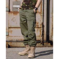 US Ranger Hose oliv grün XS-7XL Outdoor Cargohose Feldhose Armeehose Arbeitshose