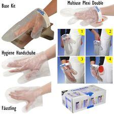 Clean Hands guanto sistema di cambio sistema set igiene Guanti monouso in acciaio inox