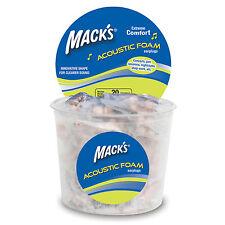 MUSICIANS EAR PLUG-MACKS(MACK'S) ACOUSTIC FOAM EARPLUGS 1 to 7 pair