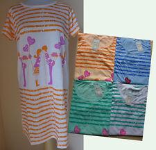 Sleepshirt Nachthemd Kurzarm mit Motiv I love you  NEU OVP Gr. S, M, L