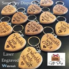 DUTCH Message Engraved Keyring Keychain Sleutelhanger graveren Gifts for Family