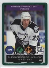 1995 Playoff One on Challenge #199 Alexander Selivanov Tampa Bay Lightning Card