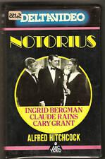 Notorius, l'amante perduta (1946) VHS ed. ABC  DELTAVIDEO rara NO edicola
