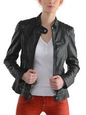JL38 Biker leather jacket coat moto sturdy geniune leather custome made GTC