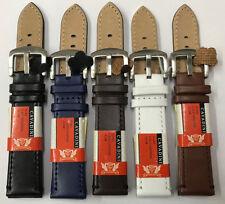 Echt TOP NAPPA-LEDER  Uhrenarmband  -14MM-16MM-18MM 20 MM 22MM 24MM