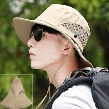 Bucket Hat Boonie Hunting Fishing Outdoor Cap  Sun Hats Wide Brim Cotton
