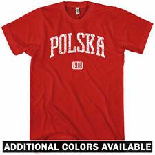 POLSKA T-shirt - Poland 1918 Warsaw Krakow Lodz Wroclaw Poznan - NEW XS-4XL