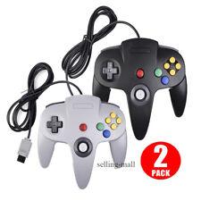 N64 Controller Joystick Gamepad for Classic Nintendo 64 Console Video Game Black