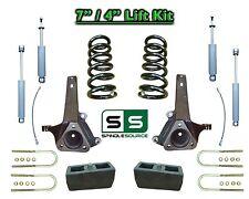 """02 - 08 Dodge Ram 1500 2WD 7"""" Front 4"""" Rear Spindle COIL Lift Kit w SHOCKS  V6"""