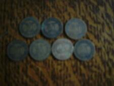 lot de 7 pieces bon pour 50 centimes