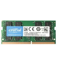Crucial 16GB 32GB 64GB PC4-21300 DDR4 2666MHz PC4-2666V SODIMM 260pin Memory RAM