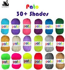 5 x 100g Cygnet Pato DK Knitting Wool / Yarn Double Knitting Knit 100g Ball