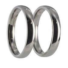 2 Ringe Edelstahl Partnerringe Trauringe x20004