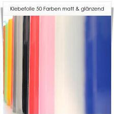Klebefolie Möbelfolie 48 Farben matt oder glänzend - als Laufmeter