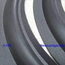2 x Tannoy 10 inch original Schaumsicke glue foam surround genuine parts HPD-295