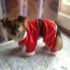 Santa Costume with 4 legs