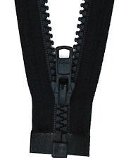 Reißverschluss Kopfkissen Bettwäsche schließbare Länge 40 cm hell blau