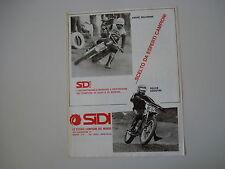 advertising Pubblicità 1975 SIDI e FELICE AGOSTINI / ANDRE' MALHERBE