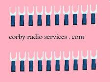 40 BLU MASCHIO BATTERIA RASTRELLO CONNETTORE AUTO RADIO 6.4MM