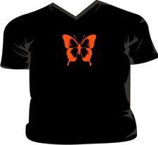 Mariposa Escote En V Camiseta