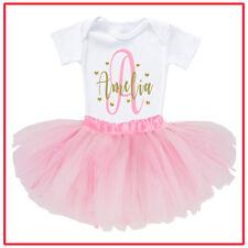 Personalised Baby Shower Newborn Romper Tutu Photo shoot Name