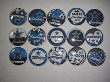 Dallas Cowboys flat back or pin badge cabochons embellishments centers magnets