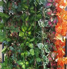Artificial Trailing Garland Ivy Vine Leaf  Fern Greenery Plants Foliage Flower 5