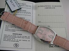 Paul Picot - Firshire 2000 Pink 4097lak Diamonds Cert of Authenticity