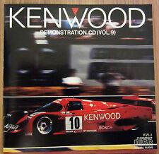 Kenwood Demonstration Cd Vol. 9 Made In Japan  By Toshiba EMI LTD CD Album
