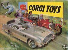 b CATALOGUE CORGI 1965 ASTON MARTIN DB5 JAMES BONDS FORD MUSTANG CADILLAC SAFARI