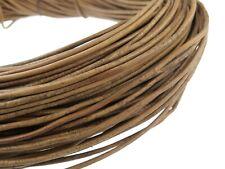 Schwarz Länge: wählbar Lederband Rund 3 mm Lederschnur ab 0,48€//m