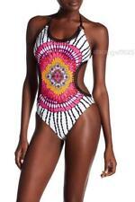 Trina Turk Ibiza Halter-Style Crochet  Monokini One-Piece Swimsuit Size 4 NEW