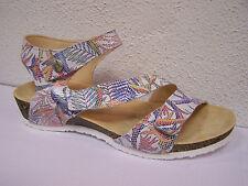 Think Shoes dumia Bianco/efecto hippie, blumenprint! incl. bolsas de zapatos