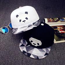 Fashion Women Men Adjustable Baseball Cap Unisex Snapback Flats Hip-Hop BBoy Hat
