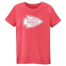 Kansas City Chiefs Outerstuff NFL Girls Pink Neon Pink Performance T-Shirt