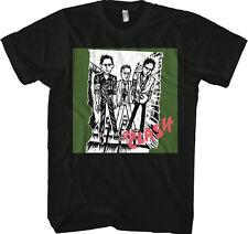 THE CLASH - 1st Album Clash Logo - T SHIRT S-M-L-XL-2XL Brand New - Official
