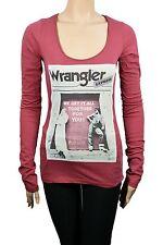 Wrangler Damen T-Shirt Langarm Shirt online mode shop shirts t-shirts 31071500