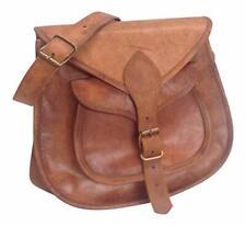 21st Century Purse Women Vintage Brown Leather Messenger Cross Body Handmade Bag