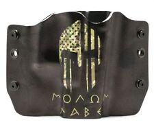 OWB Kydex Gun Holsters, Molan Labe Camo for Glock Handguns