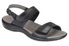 Womens SAS Sandals Nudu Midnight Narrow Width Size Comfort USA Made $128 Retail