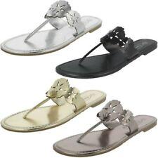 Donna Spot On piatto infradito sandali con 'motivo a fiori '