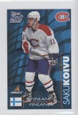 1997-98 Pinnacle Kraft Dinner #SAKO Saku Koivu Montreal Canadiens Hockey Card