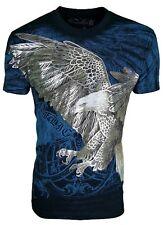 Konflic [Screaming Eagle] T-Shirt Wings Rocker Biker Tatouage Ink Harley konflic