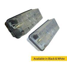 100W IP65 BC B22d policarbonato base diffusore VANDALO paratia in nero o bianco