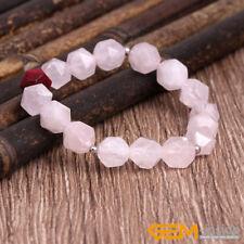 Handmade Faceted Gemstone Beaded Elastic Bracelet Fashion Jewelry For Women YB