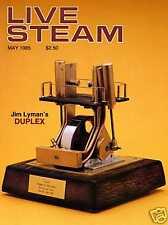 Live Steam V19 N 5 May 1985 Jim Lyman's Duplex