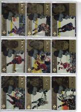 1998-1999 UD Upper Deck Ice McDonalds Canada Complete Set Mint (41 cards)