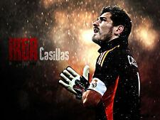 154047 Iker Casillas Football Star Art Wall Print Poster CA