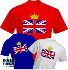 UNION JACK T-SHIRT QUEENS BIRTHDAY 90 - Patriotic, British, Royal, Street party